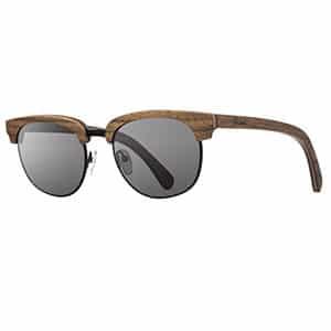 Non-exploitative festival fashion // sunglasses made from sustainably harvested wood