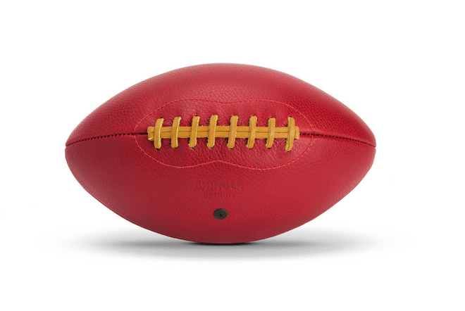 Father's Day // leather football by Shinola