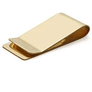 Father's Day // brass money clip