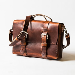 Father's Day // Minamalist Satchel made in NC