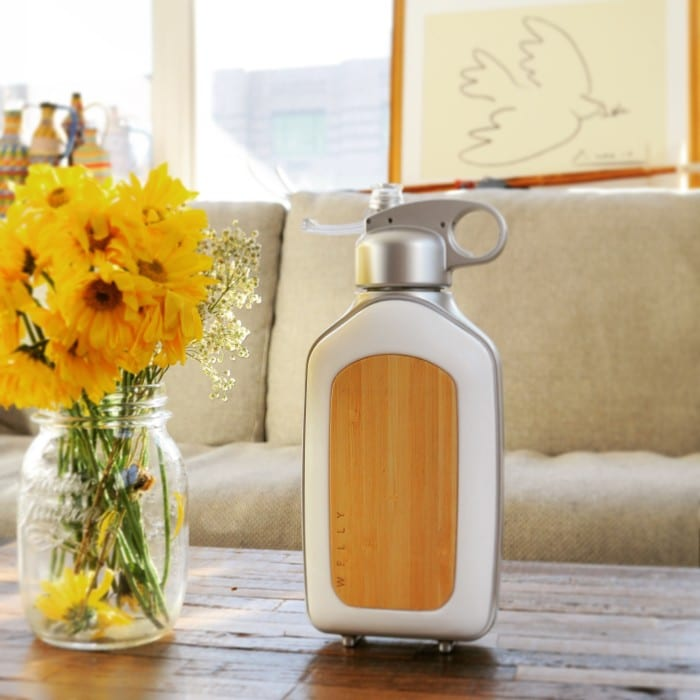 Welly reusable water bottle