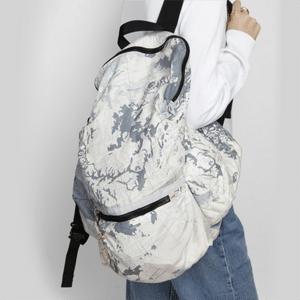 Map print backpack // eco-friendly beach essentials