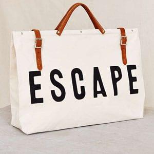 Escape beach bag  // eco-friendly beach essentials