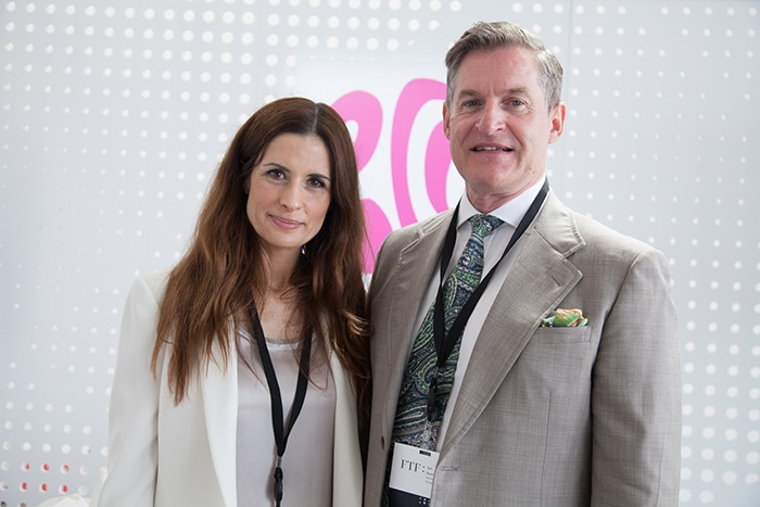 Livia Firth and Iain Renwick of Eco-Age