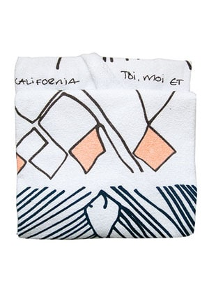 Heidi Merrick beach towel // eco-friendly beach essentials