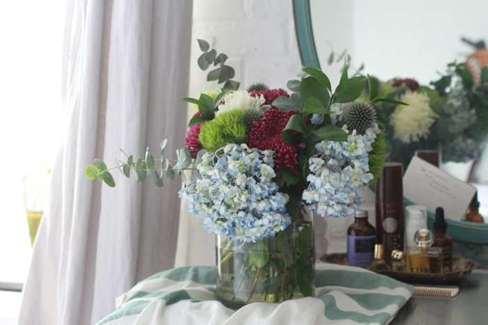 Engagement flowers that Illich bought me