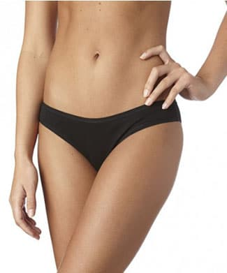 I love these organic cotton panties from PACT. They're flattering and comfy!
