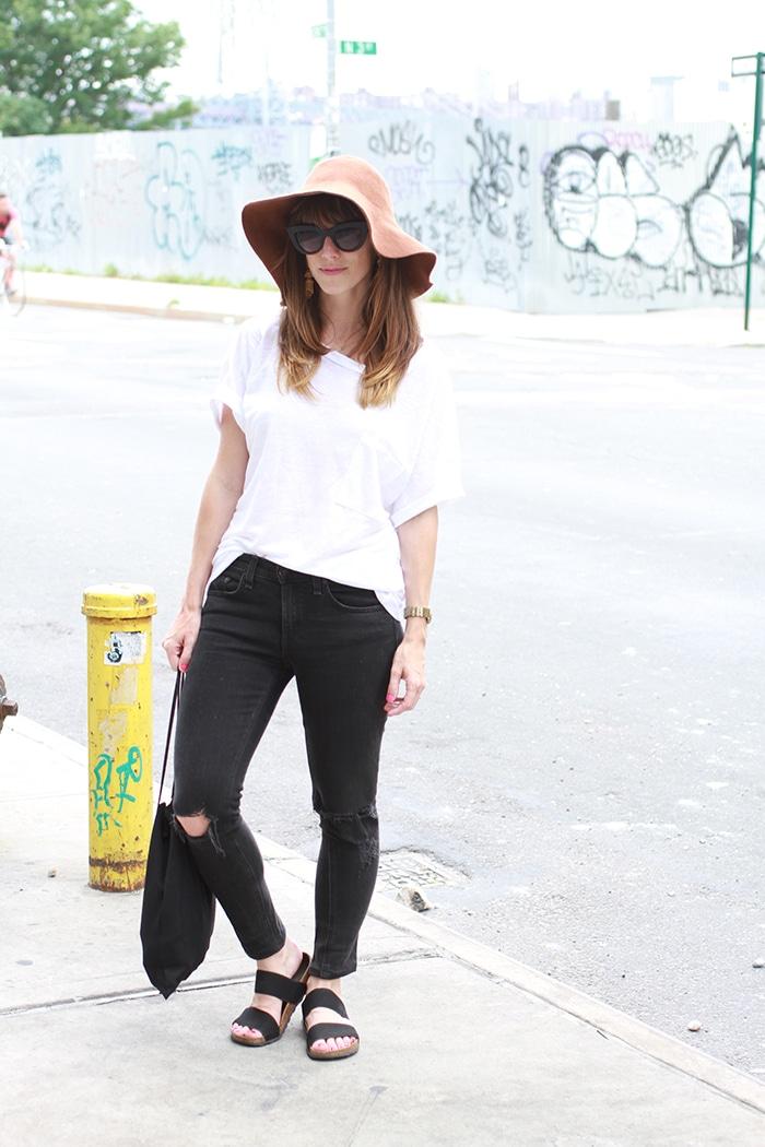 Zady white linen shirt