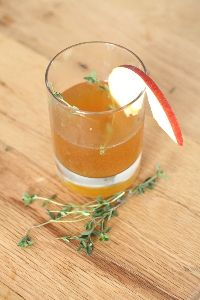 3 Fall Rum Cocktails // Cider Rum Punch