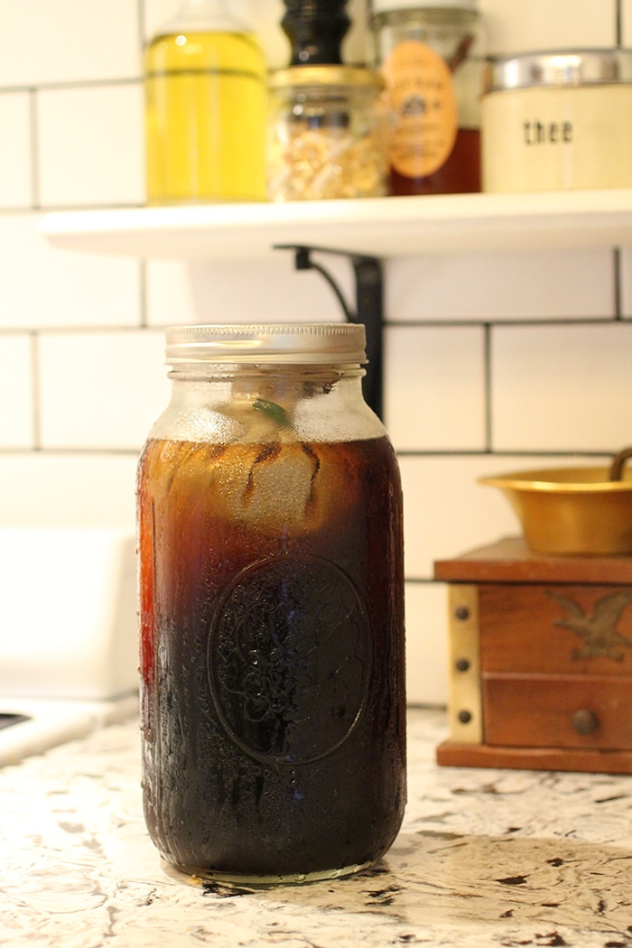 Sustainable coffee // cold brew