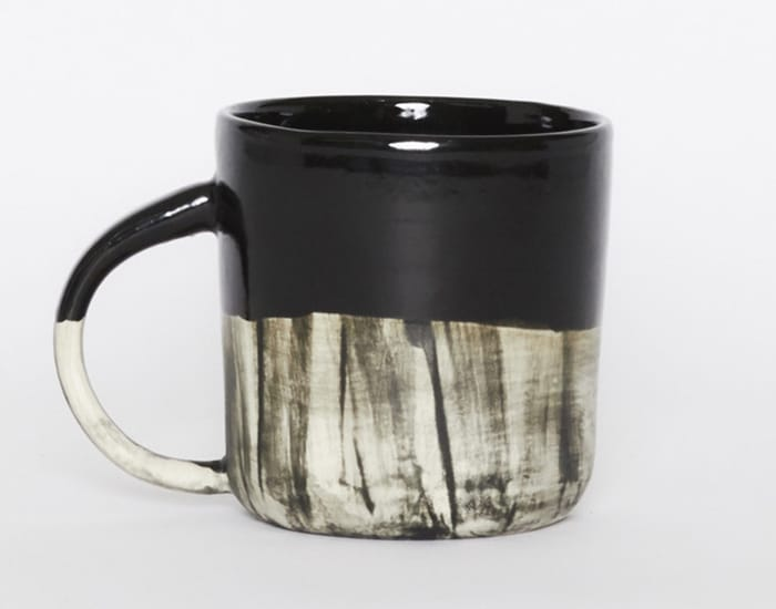 Handcrafted mug at Young & Able