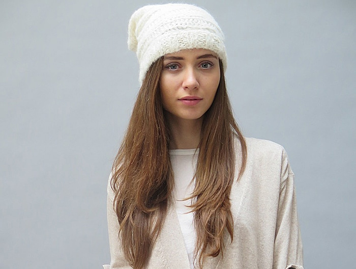 Nomadic Thread Society slouchy hat at Kaight