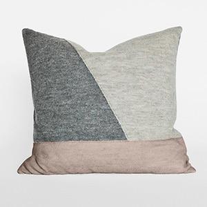Aiayu // llama wool throw pillow