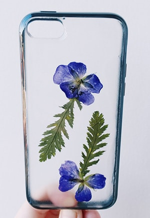 Pressed Flower iPhone Case