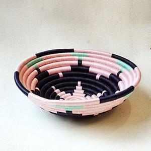 Zeal Living // handwoven bowl