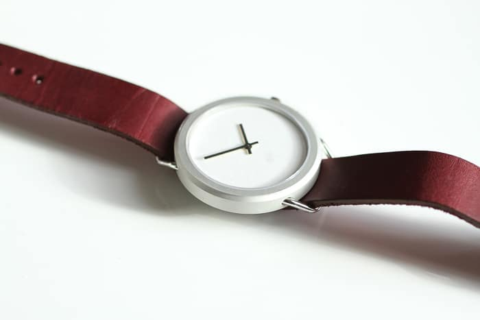 Minimalist // classic engineering NATO watch is unisex and has interchangeable leather straps