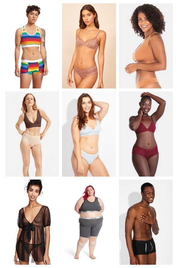 22 Ethical Sustainable Underwear Brands For All Types Of Bodies
