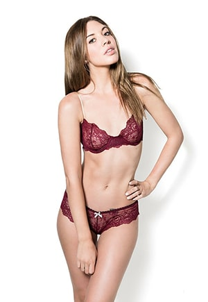 Sexy, yet simple enough to be worn under everyday clothes.