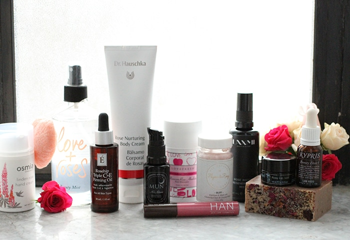 Rose non-toxic beauty products