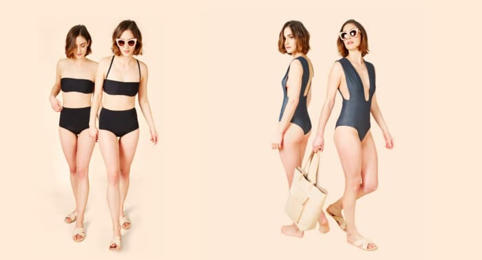 Cocodune bathing suits let you try them on at home. And they're affordable!