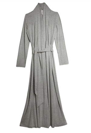 A robe so elegant, she'll want to go outside to get the paper and show it off to the neighbors.