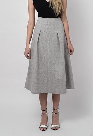 Arkins hemp skirt | Comes in XL