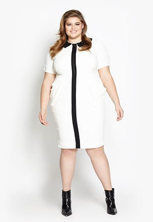 Beth Ditto dress | Made in NYC | Up to size 28
