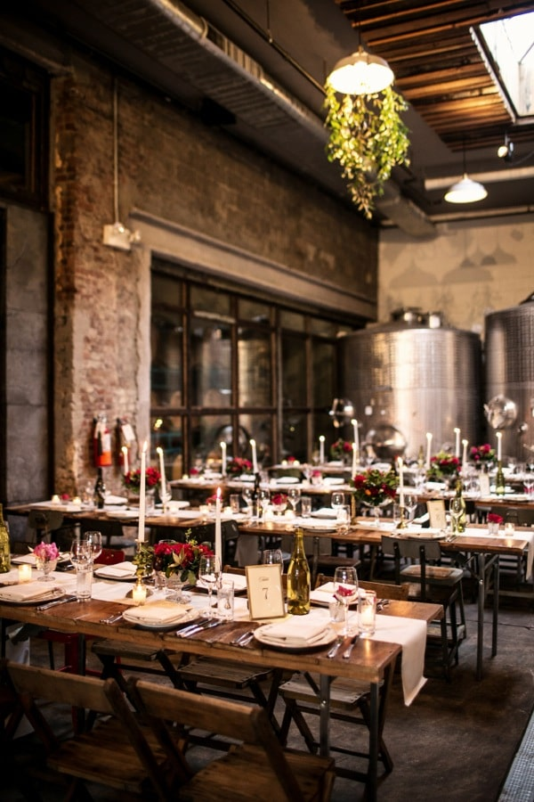 The 15 coolest sustainable wedding venues for brooklyn couples ecocult winery junglespirit Choice Image