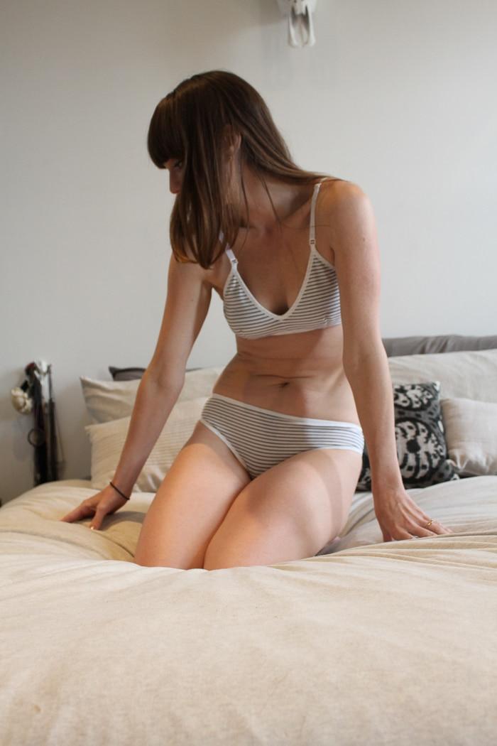 Brook There organic cotton underwear and bra