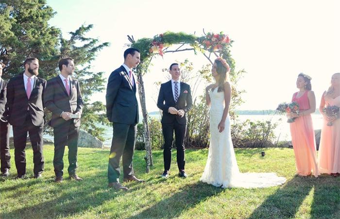 Sustainable Wedding Stephanie + Justin