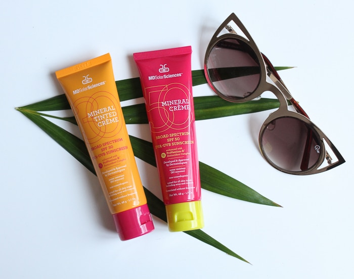 Review MD Solar Sciences Mineral Crème SPF 50