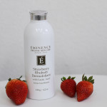 Green Beauty Review: Éminence Organic Skincare Strawberry Rhubarb Dermafoliant