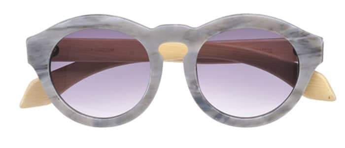 (AUSTRALIA) Bamboo and acetate sunglasses by Sticks & Sparrow