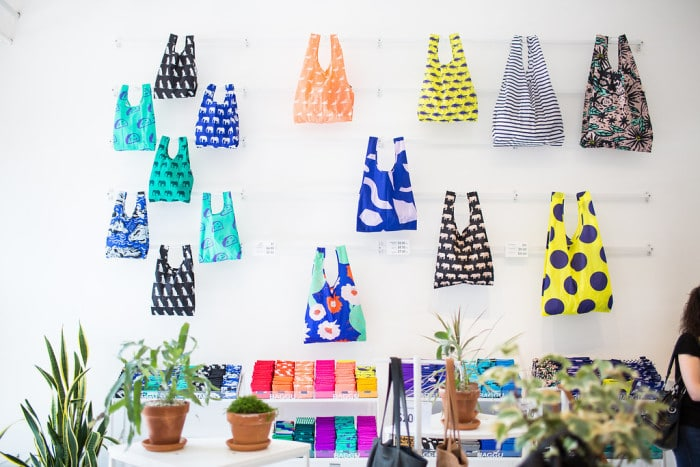 Things to Do Williamsburg: Baggu reusable bags