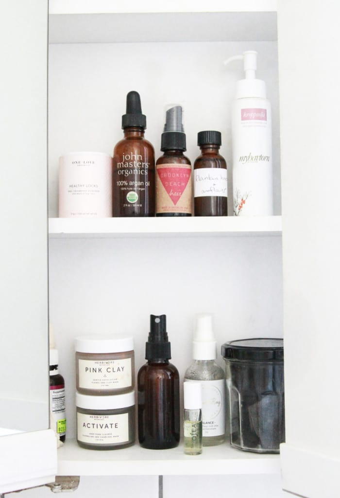 Alden Wicker // EcoCult's clean beauty routine