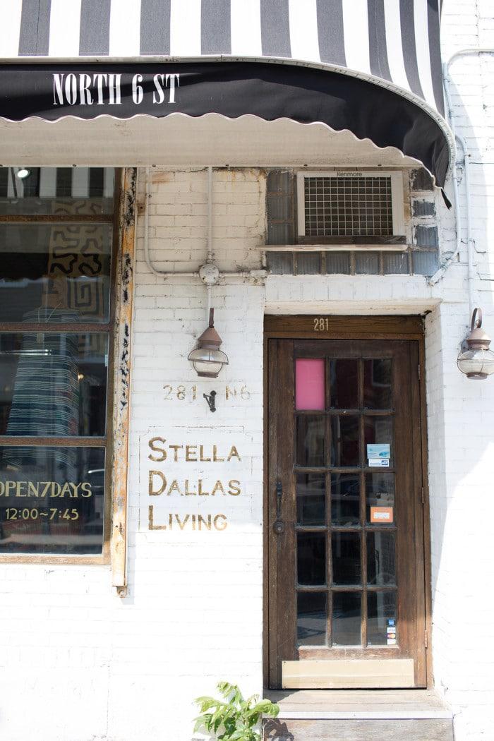 Vintage shopping Williamsburg Brooklyn Stella Dallas