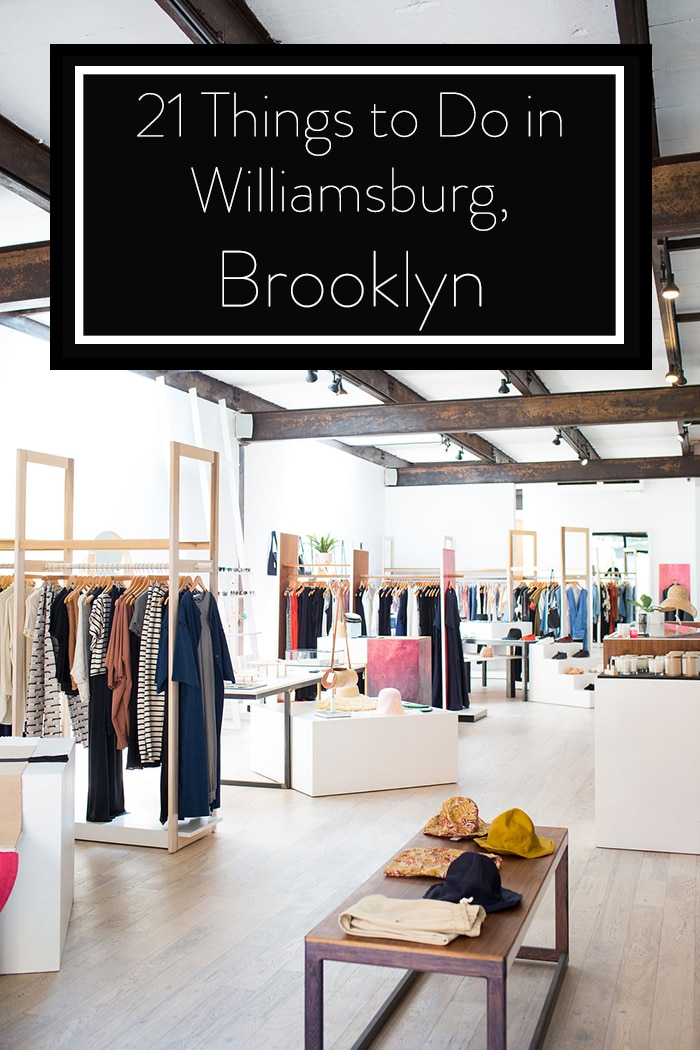Sustainable Things to Do in Williamsburg Brooklyn