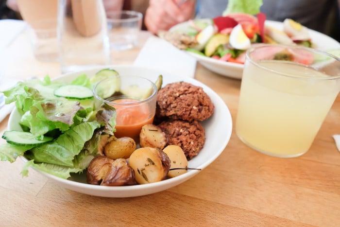 vegan restaurant paris cafe pinson