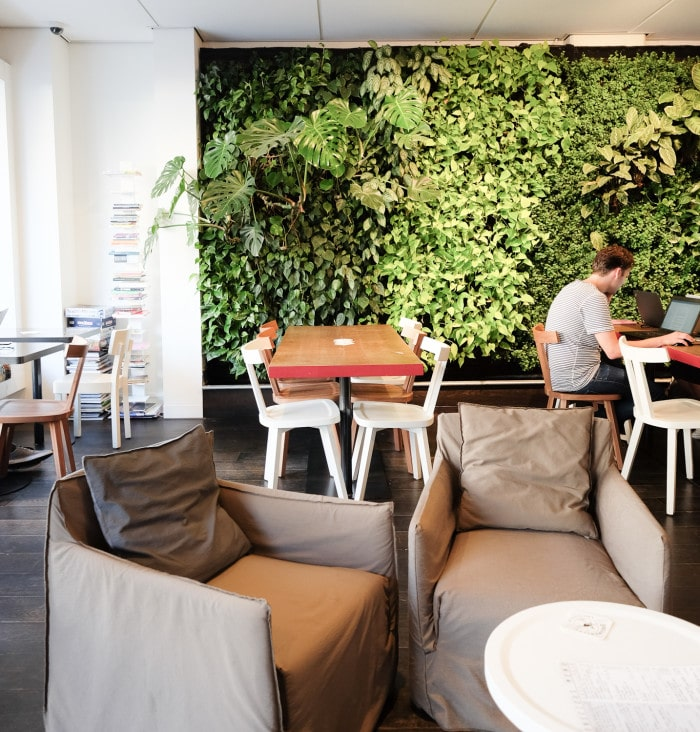 Conscious Hotel, sustainable hotel Amsterdam review
