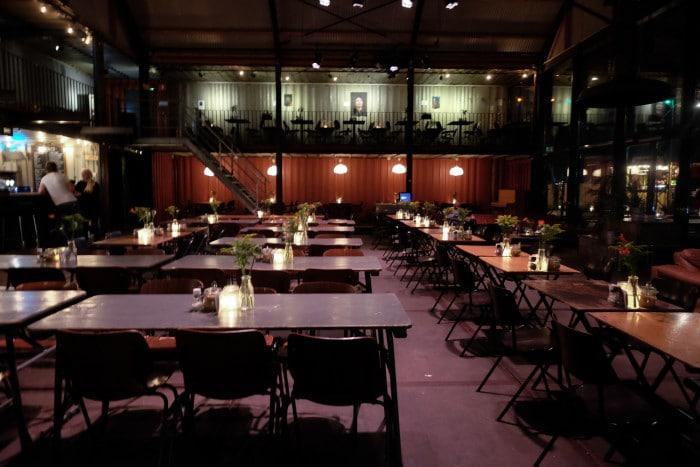 Pllek sustainable restaurant Amsterdam