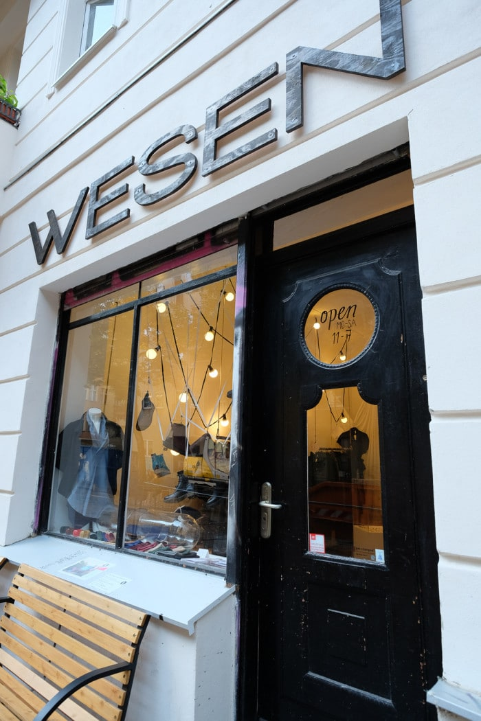 Wesen sustainable fashion Berliner