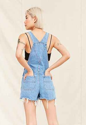 Upcycled shorteralls for $69