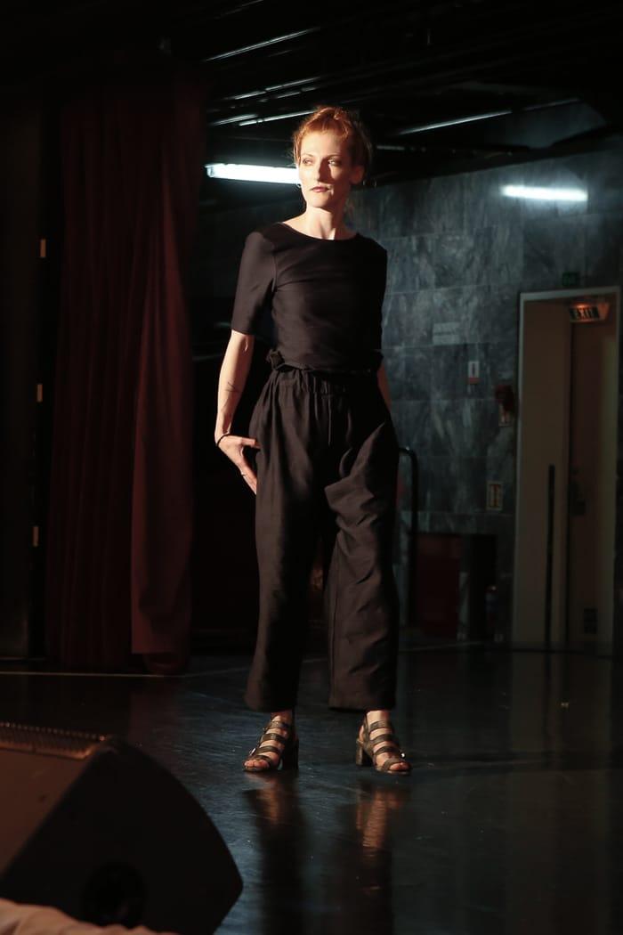 Jennifer Whalen in Suzanne Rae. Photo credit: Brian Park