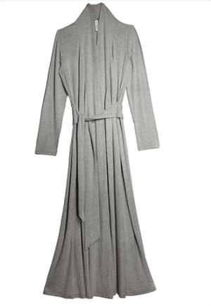 Jersey knit robe made in the U.S.A.