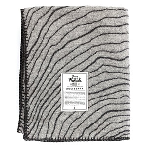 Topography blanket for the hiker who likes to snuggle. Made in the heritage Woolrich factory in PA.
