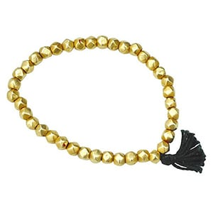 A luxe gold Indian bracelet. Marteau will donate 20% of all sales to causes that have been directly compromised by the agenda of our president-elect. Center for Reproductive Rights, Southern Poverty Law Center, Peace over Violence, Everytown for Gun Safety & The Natural Resources Defense Council.