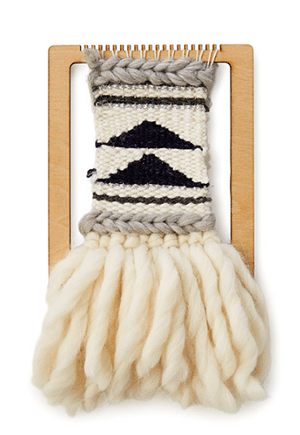 A classy update to the potholder project that you'll actually want to hang on your wall!