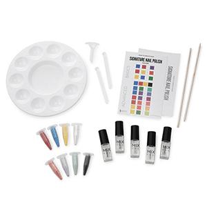 This make your own nail polish kit is 5-free (Toluene free, Formaldehyde free, DBP-Dibutyl Phthalate free, Formaldehyde Resin free, Camphor free)