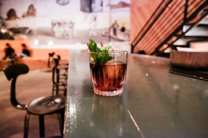 Bastion cocktail bar