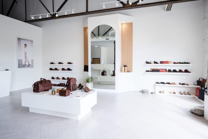 Nisolo showroom nashville
